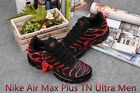 Nike Air Max Plus Tn Ultra Men's Running Trainers Shoes Black And Red