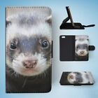 FERRETS PET ANIMAL 7 FLIP WALLET CASE COVER FOR IPHONE 6 / 6S