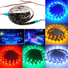 Multicolor 10pcs 30cm 15 Led Waterproof Light Strip Bar Car Motor Truck Boat 12v