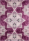 NEW (CH#207) TRADITIONAL, PURPLE MODERN AREA RUG APRX SIZES 2X3 2X7 4X5 5X7 8x11