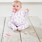 Peachey Boo Strawberry Mice babygrow and bib