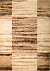 NEW (#313) Rio Area Rug, Beige-Brown BOXED RUG- APRX SIZES: 2X3 2X7 4X5 5X7 8X11