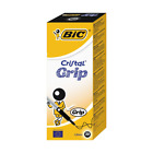 Bic Cristal Grip BLACK Biro Ballpoint 1.0mm SMOOTH WRITING *CHOOSE FROM MENU*