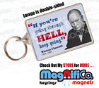 Winston Churchill Quote #4 Fridge Magnet or Keyring - Politician History