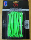 """Zero Friction Performance 3-Prong 3-1/4"""" Golf Tees 4-Packs Multiple Colors"""