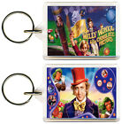 Willy Wonka and the Chocolate Factory Keyring 50mm x 35mm