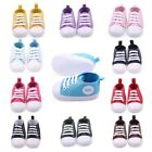 Toddlers Canvas Sneakers Soft Sole Crib Shoes for Baby Boy Girl