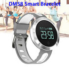Bluetooth Sports Bracelet Wristwatch Heart Rate Messages Call Reminder for IOS