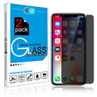 9H HD Privacy Anti-Spy Tempered Glass Screen Protector for iPhone XS Max/XS/XR/X