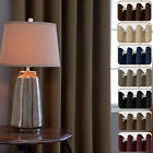 Blockout Blackout 3 Layers Fabric Thermal Insulated Eyelet Top Curtains
