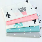 160*50CM catus Cotton Fabric Patchwork Baby infant doll cloth Sewing tissue