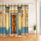 Ancient Egyptian Temple Waterproof Polyester Fabric Shower Curtain Bathroom 71In