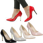 NEW Ladies High Heels CASU 1414 Stiletto Yearly Party Girls Women's Sizes Shoes