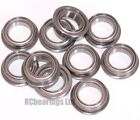 8x12x3.5mm 8x12x3.5 Bearings Flanged Metal Rubber Shielded CODE MF128zz MF128rs