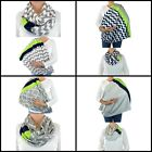 Breastfeeding Cover Chevron Seattle Handmade Infinity Scarf Nursing Privacy Baby