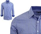 Mens Long Sleeve Shirt Dress Casual Button Down Pattern and Solid Work NEW
