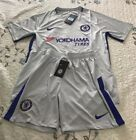 Chelsea Away Jersey 2017 2018 Jersey W/ Short - Adult Size