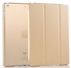 """UK Smart Stand Magnetic Gold Leather Case Back Cover for Apple iPad Air 9.4"""""""