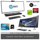 "ALL IN ONE PC HP ENVY 24"" 27"" CURVED 34"" CORE i5 i7 6 & 7gen 4K QuadHD B&O Sound"