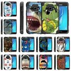 For Samsung Galaxy J Series Phone Case Slim Dual Layer Hybrid Stand Sea Ocean