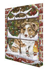 Please Come Home For Christmas Australian Shepherds Dog Canvas Wall Art