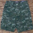 GREAT NORTHWEST RELAXED FIT MENS TARMAC CAMO 6 POCKETS CARGO SHORTS LIST $40