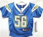 """New! NFL  San Diego Chargers Jersey  """"Merriman"""" Toddler $19.95 USD on eBay"""