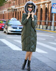 Women's Ligth With Hat Length Fashion Down Jacket Colorful