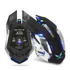 New Rechargeable X70 2.4GHz 7 LED Backlit Wireless USB Optical Gaming Mouse Mice