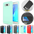 Hybrid Shockproof Brushed Case For Galaxy S8 S7 S6 Edge Plus Note 8 J3 J5 J7