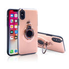 Shockproof Magnetic Kickstand Back Back Case Cover For iPhone 8 7 Plus X 6s Plus