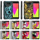 lg dual chip - For LG V Series Phone Case Slim Dual Layer Hybrid Kickstand Gambling Casino