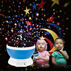 Rotating Projector Starry Night Lamp Star Sky Romantic Projection LED Kids Gift