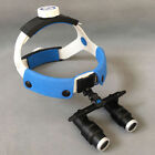 4X 6X 420mm Dental Surgical Medical Headband Binocular Loupes Glasses Magnifier