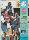 MILLWALL HOMES PROGRAMMES 1995/96