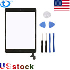For iPad Mini 1 2 Touch Screen Glass Digitizer Replacement IC Home Button FREE