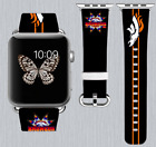 Denver Broncos Apple Watch Band 38 40 42 44 mm IWatch PU Leather Strap 253 on eBay