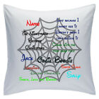 "Personalised White Cushions 18"" - Disney - The Nightmare before Christmas"