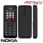 Brand New NOKIA 105 DUAL Sim Free Unlocked To All Network Cheap Basic Phone UK