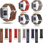Replacement Genuine Leather Soft Watch Strap Wristband Bracelet For Fitbit Ionic