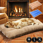 Pet Orthopedic Bed Cushion Mat Pad for Dog Cat Kennel Crate Cozy Soft Foam Large