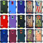 For Samsung Galaxy S5 Heavy Duty Defender Case Cover w/ Belt Clip fits Otterbox