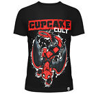 CUPCAKE CULT TOOTHPOOL T SHIRT LADIES GOTHIC DEADPOOL TRAIN DRAGON RED COMIC