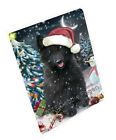 Holly Jolly Christmas Belgian Shepherd Dog Woven Throw Sh...