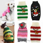 Knitted Puppy Dog Woolen Jumper Sweater Pet Clothes For Small Dogs Coat Costume