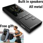 MP3 Player Portable Built In Speaker FM Radio E Book 8G Memory Storage Audio New