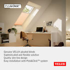 Genuine VELUX Pleated Blinds for Skylight Roof Window in Various Colours