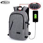 Anti Theft  Backpack, Password Locks Bag Men Bag USB Charging Backpack With