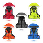 Polyester Adult Life Jacket Swimming Vest Drifting Ski Universal Whistle S Xxl