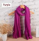 Women Solid Colors Scarfs And Shawls Spring Autumn Winter Classic Winter Scarfs